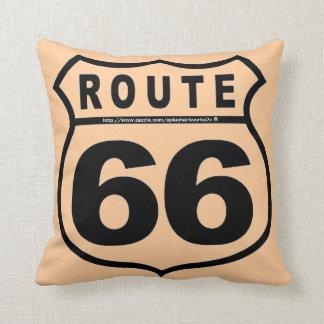 """""""Get your kicks @ RT 66!"""" Pillows"""