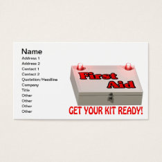Get Your Kit Ready Business Card at Zazzle