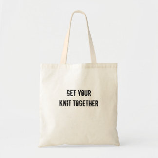 Get Your Knit Together Tote Bag