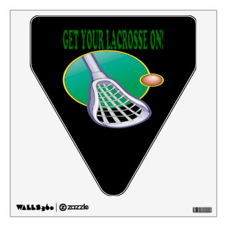 Get Your Lacrosse On Wall Sticker