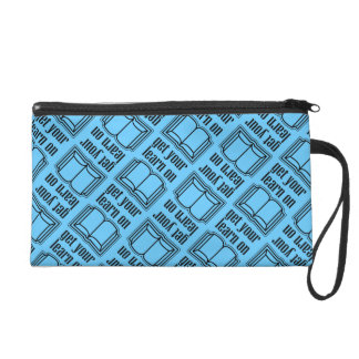 Get Your Learn On Wristlet Clutch