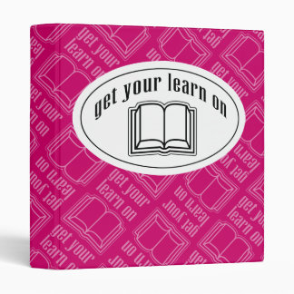 Get Your Learn On Binder