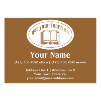 Get Your Learn On Business Cards