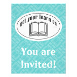 Get Your Learn On Custom Invitations