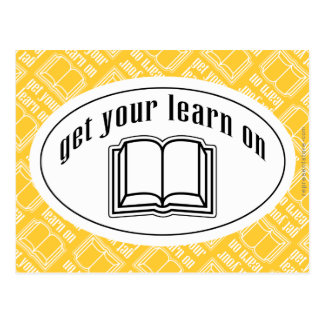 Get Your Learn On Postcard