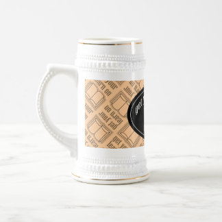 Get Your Learn On School Book Beer Stein