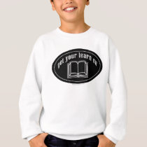 Get Your Learn On School Book Sweatshirt