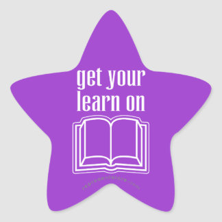 Get Your Learn On Star Sticker
