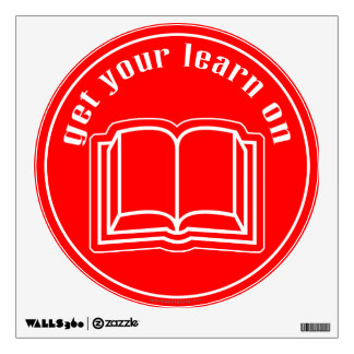 Get Your Learn On Wall Decal