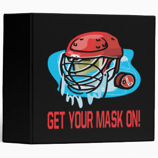 Get Your Mask On 3 Ring Binder