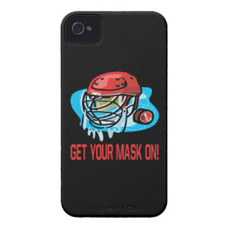 Get Your Mask On iPhone 4 Case-Mate Case