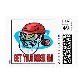 Get Your Mask On Stamp