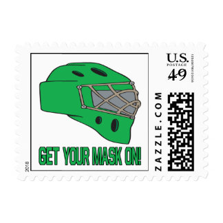 Get Your Mask On Postage Stamps