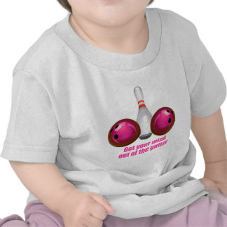 Get your Mind out of the Gutter (pink).png T Shirts