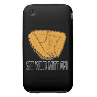Get Your Mitt On iPhone 3 Tough Cover
