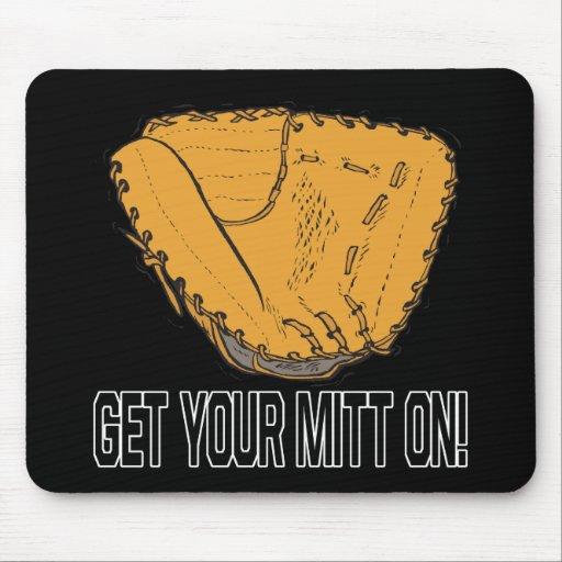 Get Your Mitt On Mousepads