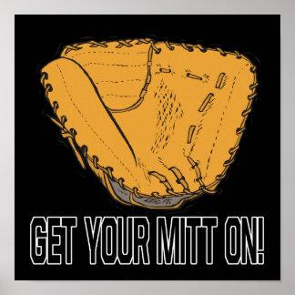 Get Your Mitt On Print