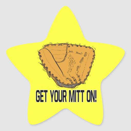 Get Your Mitt On Stickers