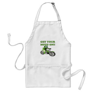 Get Your Moto On Adult Apron