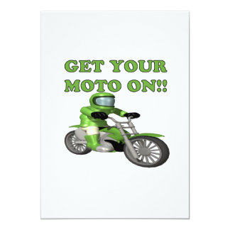 Get Your Moto On Card