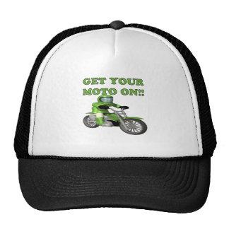 Get Your Moto On Trucker Hat
