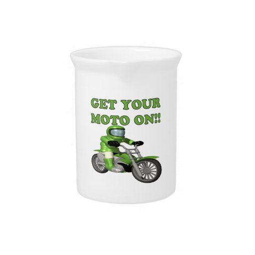 Get Your Moto On Drink Pitchers