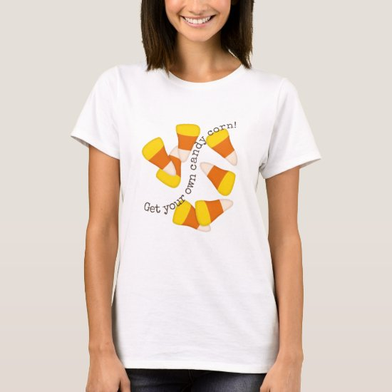 Get your own candy corn Halloween fall autumn T-Shirt