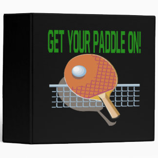 Get Your Paddle On 3 Ring Binder