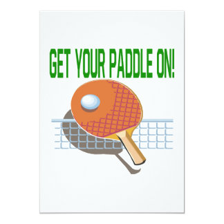 Get Your Paddle On Card