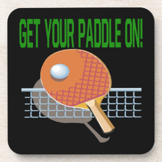 Get Your Paddle On Coaster