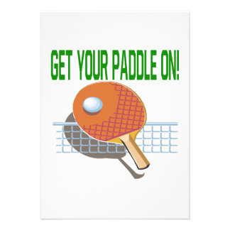 Get Your Paddle On Announcements