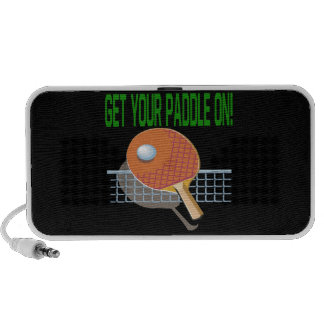 Get Your Paddle On Mini Speaker