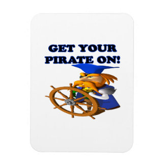 Get Your Pirate On Magnets