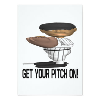 Get Your Pitch On Card