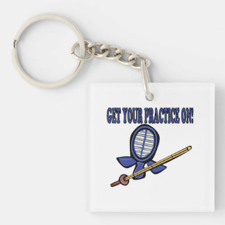 Get Your Practice On Keychain