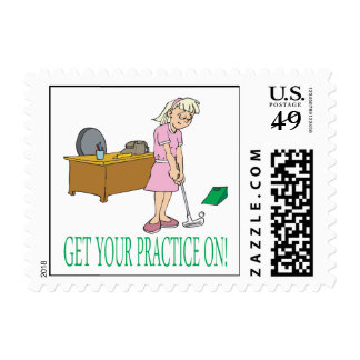 Get Your Practice On Stamp