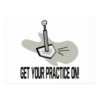 Get Your Practice On Postcard