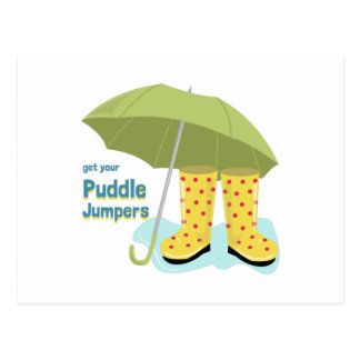 Get Your Puddle Jumpers Postcard