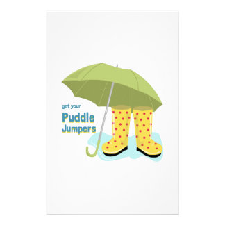 Get Your Puddle Jumpers Personalized Stationery