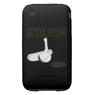 Get Your Putt On iPhone 3 Tough Cases