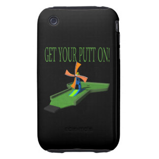 Get Your Putt On Tough iPhone 3 Cases