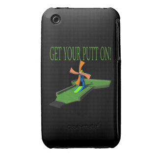 Get Your Putt On iPhone 3 Cover