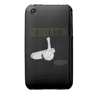 Get Your Putt On iPhone 3 Case-Mate Cases
