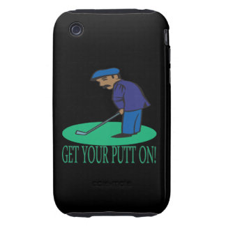 Get Your Putt On iPhone 3 Tough Covers