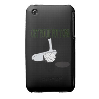 Get Your Putt On Case-Mate iPhone 3 Case