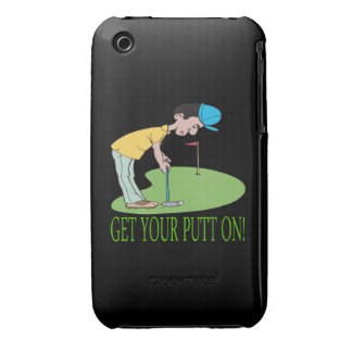 Get Your Putt On iPhone 3 Case