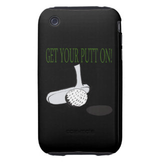 Get Your Putt On Tough iPhone 3 Cover