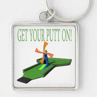 Get Your Putt On Keychain