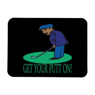 Get Your Putt On Magnet