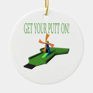 Get Your Putt On Christmas Tree Ornament